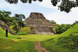 Belize maya ruins Xunanunich