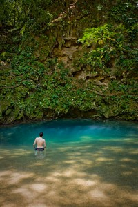 Inland Blue Hole Belize Parks