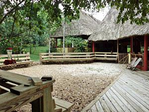 Decks around the Crystal Paradise resort