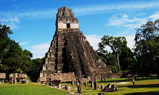 Tikal Maya temple